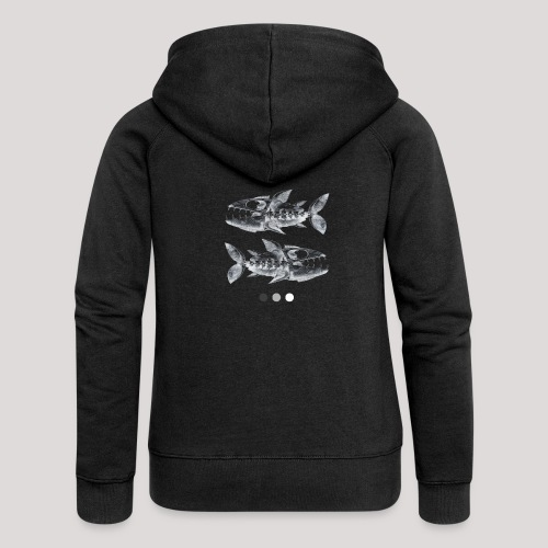 Fish05 - Women's Premium Hooded Jacket