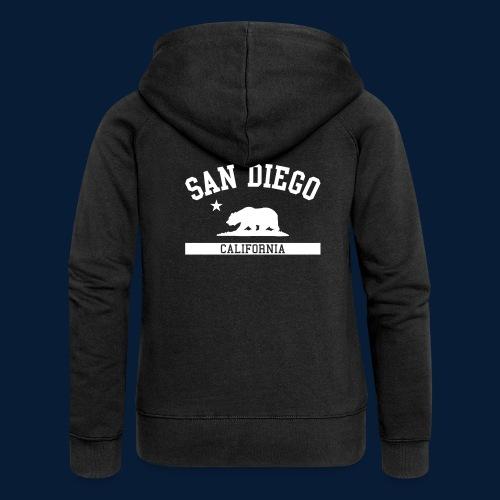 San Diego - Frauen Premium Kapuzenjacke
