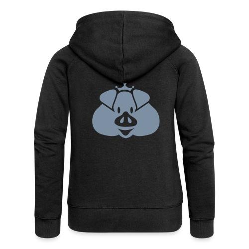 Habsburger Schwein - Women's Premium Hooded Jacket