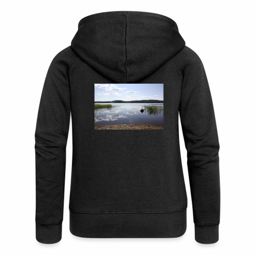 landscape - Women's Premium Hooded Jacket
