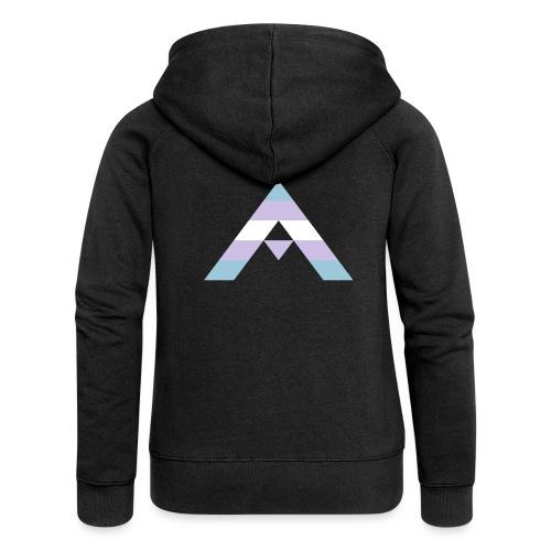 shirt_ally_trans - Premium luvjacka dam