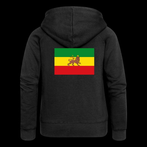 LION FLAG - Women's Premium Hooded Jacket