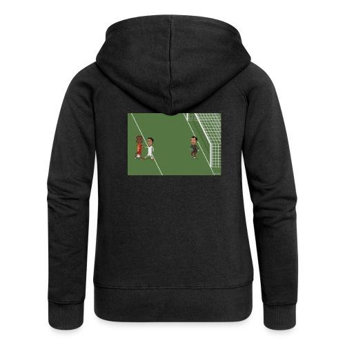 Backheel goal BG - Women's Premium Hooded Jacket