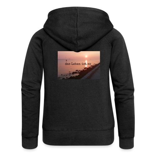 Sunset dLis - Frauen Premium Kapuzenjacke
