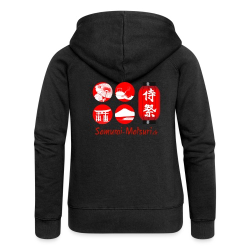 Samurai Matsuri Festival - Frauen Premium Kapuzenjacke