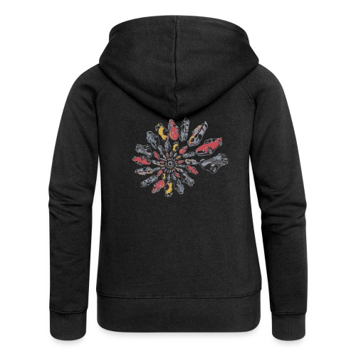 Car Swirl - Women's Premium Hooded Jacket