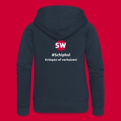 #Schiphol - krimpen of verhuizen! - Vrouwenjack met capuchon Premium