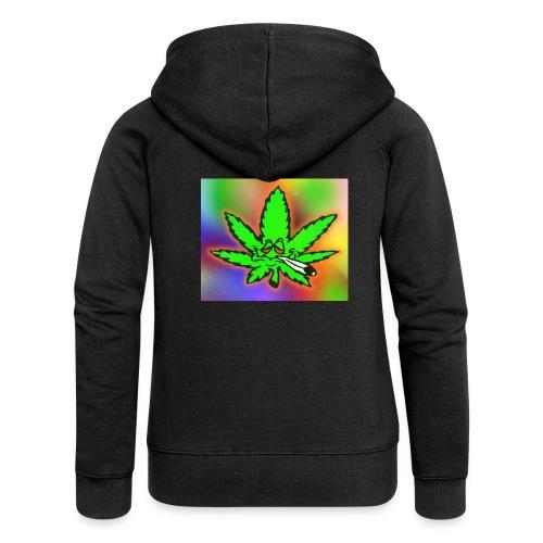best weed - Naisten Girlie svetaritakki premium