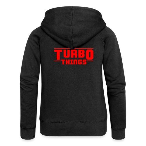 Turbo Things Tuner Mechaniker Auto Shirt Geschenk - Frauen Premium Kapuzenjacke