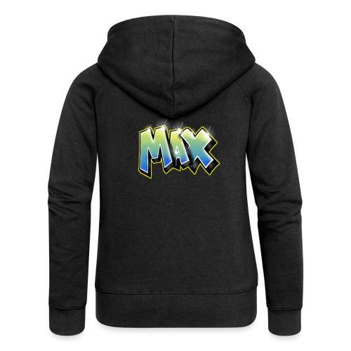 Graffiti Max - Veste à capuche Premium Femme