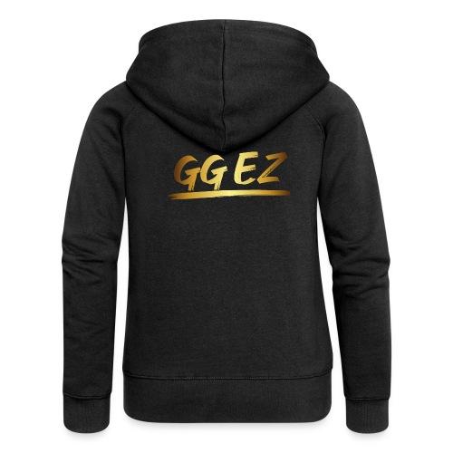 00352 GG EZ dorado - Chaqueta con capucha premium mujer