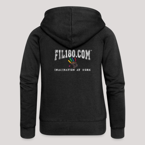 FIL180 Hoody WHITE - Women's Premium Hooded Jacket