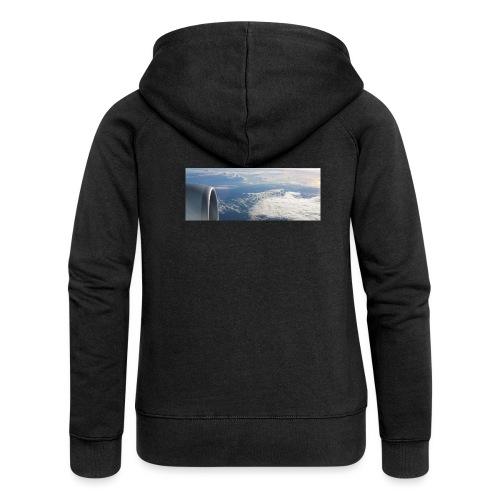 Flugzeug Himmel Wolken Australien - Frauen Premium Kapuzenjacke