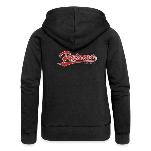 Patame Logo - Frauen Premium Kapuzenjacke