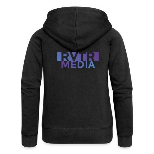 RVTR media NEW Design - Frauen Premium Kapuzenjacke