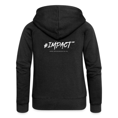 Logo impact - Vrouwenjack met capuchon Premium