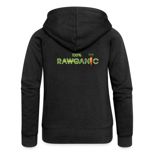 100% Rawganic Rohkost Möhre - Frauen Premium Kapuzenjacke