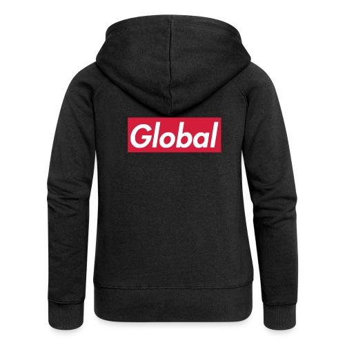 Global - Frauen Premium Kapuzenjacke
