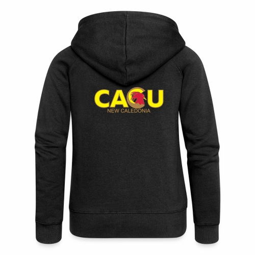 Cagu New Caldeonia - Veste à capuche Premium Femme