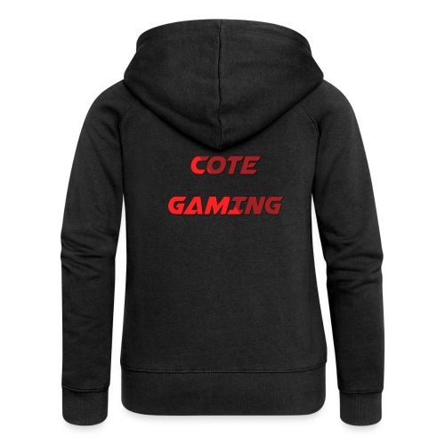 Cote Sweater Rode Letters - Women's Premium Hooded Jacket