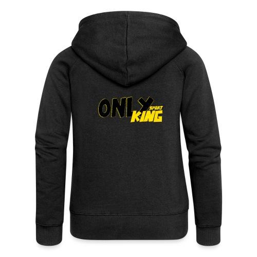 OnlyKing Sport Design - Veste à capuche Premium Femme