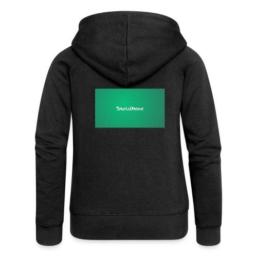 backgrounder - Frauen Premium Kapuzenjacke