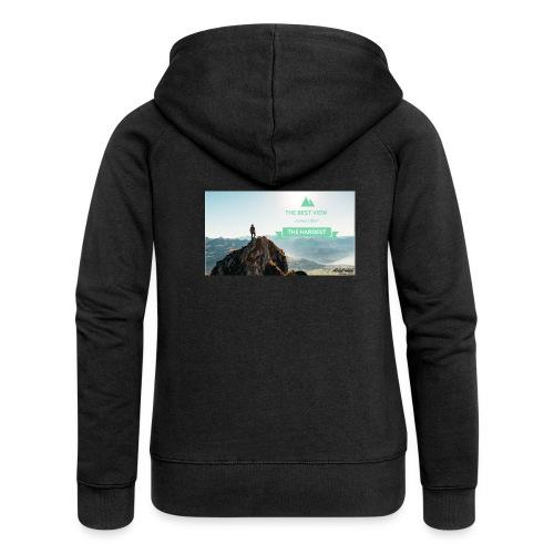 fbdjfgjf - Women's Premium Hooded Jacket
