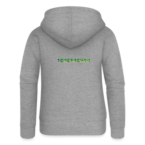 Tshirt Green triangles big - Frauen Premium Kapuzenjacke