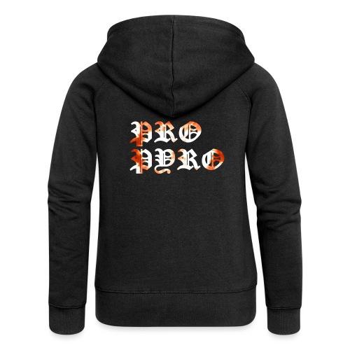 Pro Pyro - Frauen Premium Kapuzenjacke