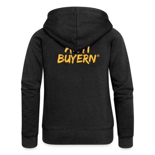 ANTI BUYERN YELLOW - Frauen Premium Kapuzenjacke