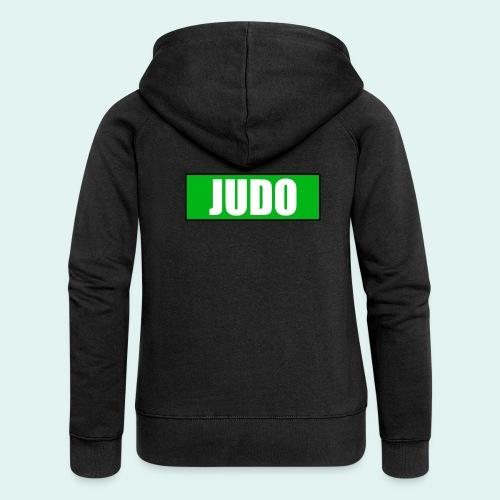 Judo Gruen 3. Kyu - Frauen Premium Kapuzenjacke