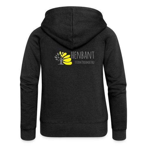 henbant logo - Women's Premium Hooded Jacket