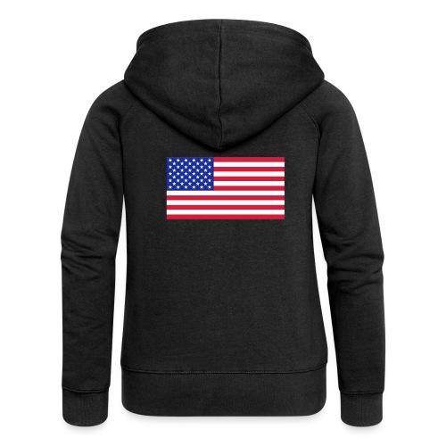 USA / United States - Vrouwenjack met capuchon Premium