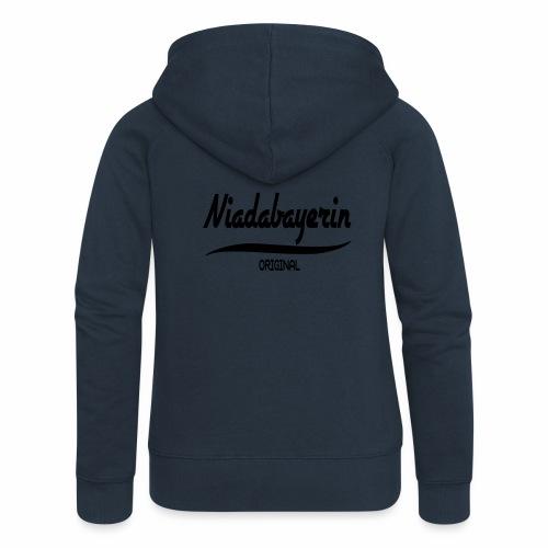 Niederbayern - Frauen Premium Kapuzenjacke