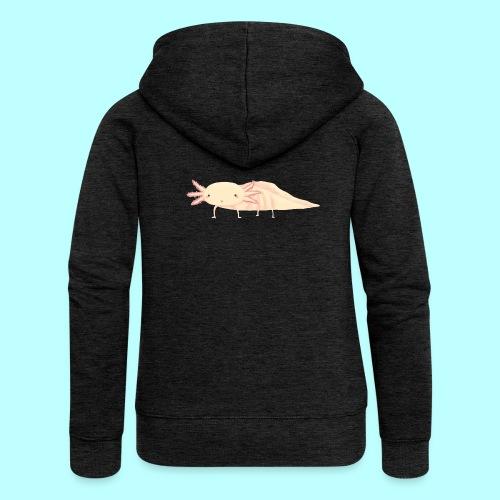 Axolotl - Frauen Premium Kapuzenjacke