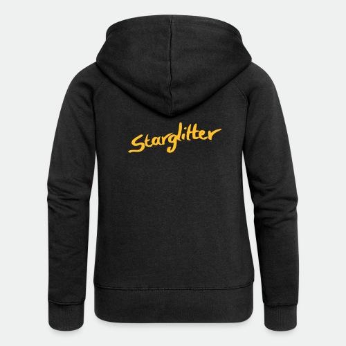 Starglitter - Lettering - Women's Premium Hooded Jacket