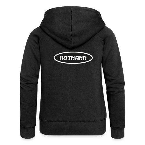 nothahn - Frauen Premium Kapuzenjacke
