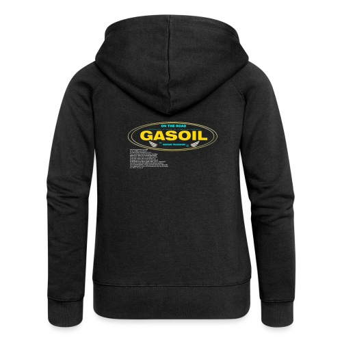 GASOIL - Veste à capuche Premium Femme