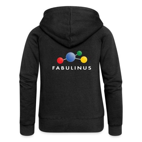 Fabulinus logo enkelzijdig - Vrouwenjack met capuchon Premium