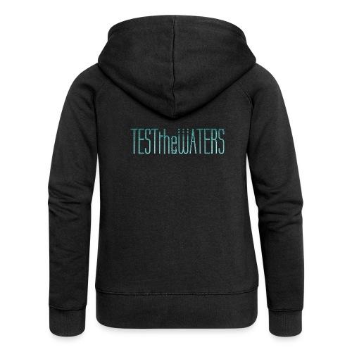 TESTtheWATERS BETA BLUE - Women's Premium Hooded Jacket