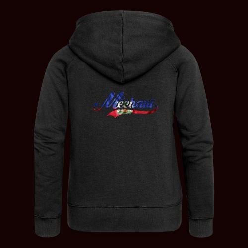 méchant drapeau haïtien - Veste à capuche Premium Femme