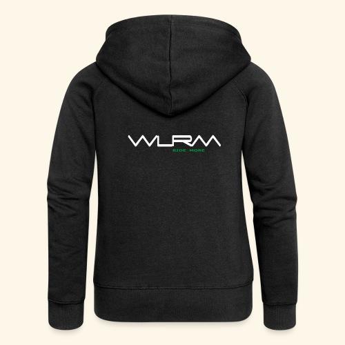 WLRM Schriftzug white png - Frauen Premium Kapuzenjacke