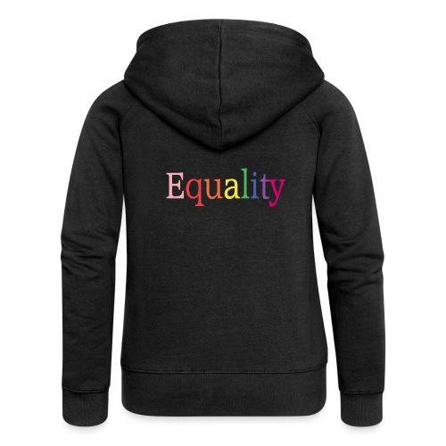 Equality | Regenbogen | LGBT | Proud - Frauen Premium Kapuzenjacke