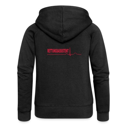 Rettungsassistent - Frauen Premium Kapuzenjacke