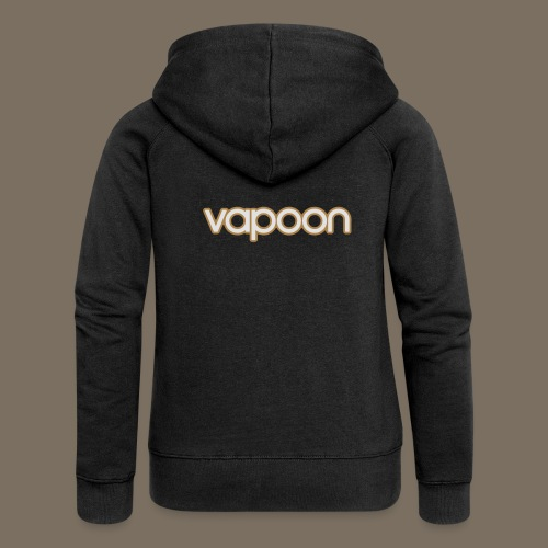 Vapoon Logo simpel 2 Farb - Frauen Premium Kapuzenjacke