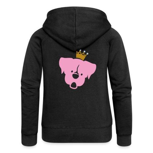 Prinz Poldi rosa - Frauen Premium Kapuzenjacke