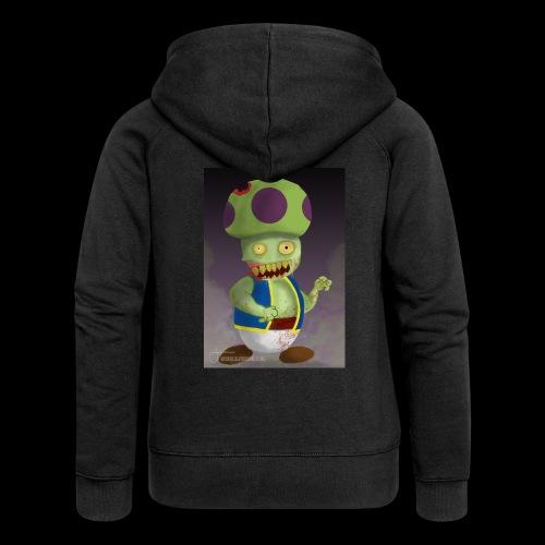 SuperMario: Zombie Toad - Vrouwenjack met capuchon Premium