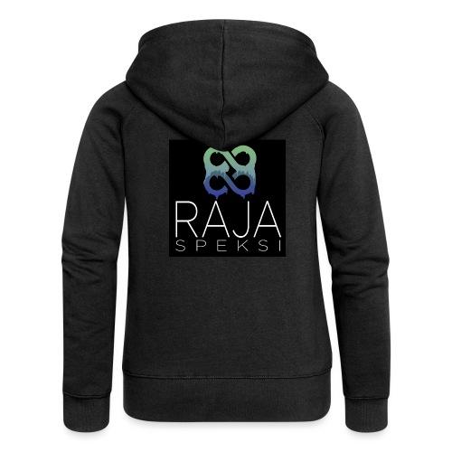 RajaSpeksin logo - Naisten Girlie svetaritakki premium