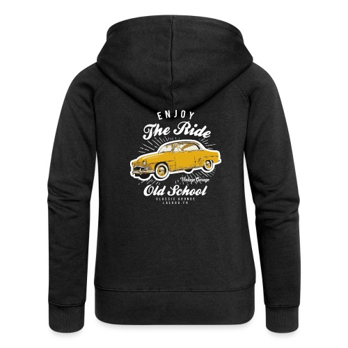 T-shirt Enjoy The Ride Simca Aronde - Veste à capuche Premium Femme