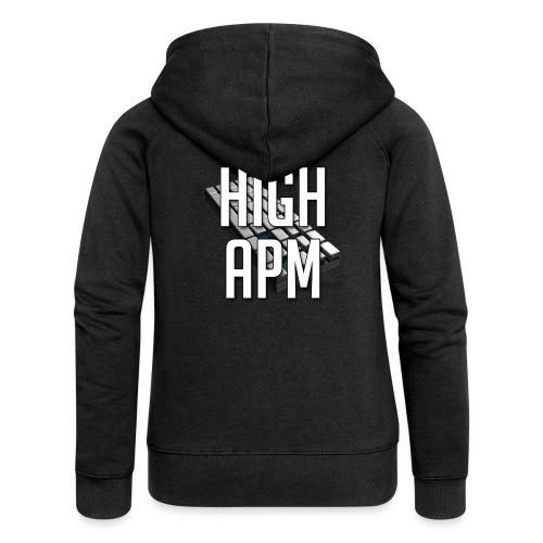 XpHighAPM - Veste à capuche Premium Femme